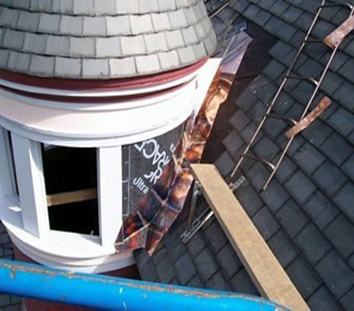 Cooper Gutters and Slate Roof Repairs